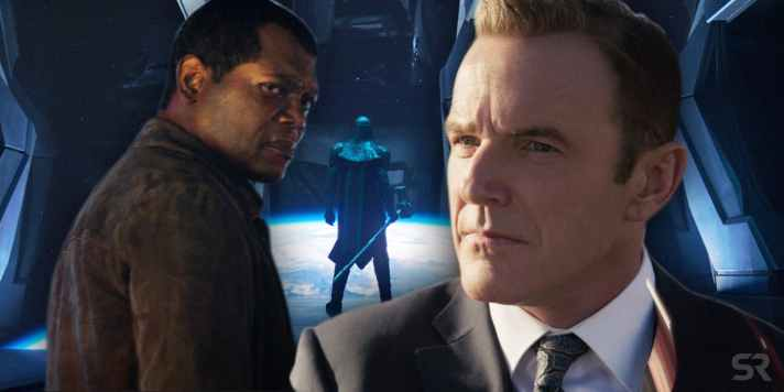 Nick-Fury-Ronan-and-Coulson-in-Captain-Marvel